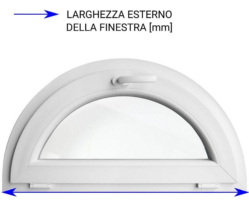 diametro della finestra